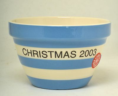 Cornish Ware Special Edition  'christmas 2003' Pudding Bowl