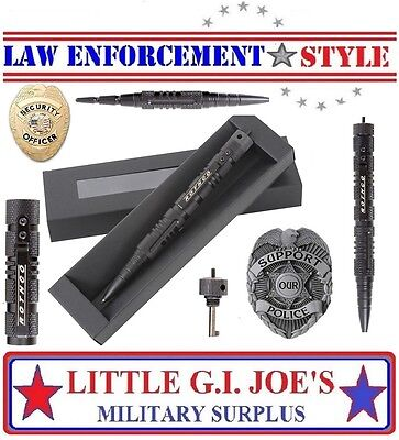 Handcuff Key Police Security Tactical Pen & Glass Breaker Rothco 5478