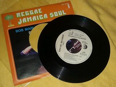 Bob Marley and the wailers - Buffalo Soldier  45 promo juke box 1983