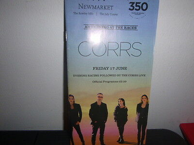 """Newmarket Racecard 17Th June  """" The Corrs Live """""""