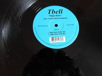 Tbell - High Note (Spa / D Influence Remixes) 12""