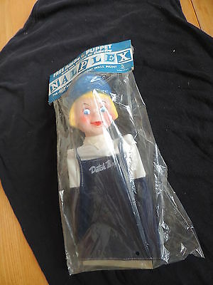 Vintage Dutch Boy Hand Puppet Doll Toy NOS Paint Advertising MIP Toy (e132)