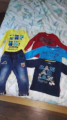 baby boy Next jeans 18-24 and tops (name it and benetton)