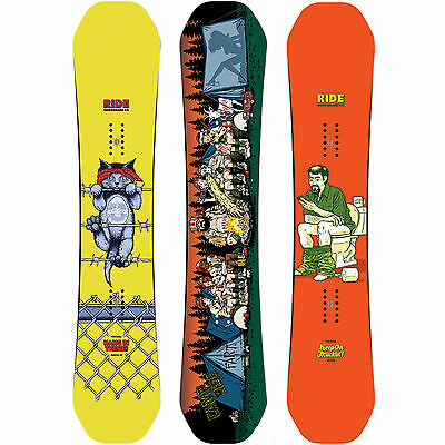 Ride Kink Snowboards Freestyle Twin Rocker Jib Park Sean Cliver 2016 -2017 NEW