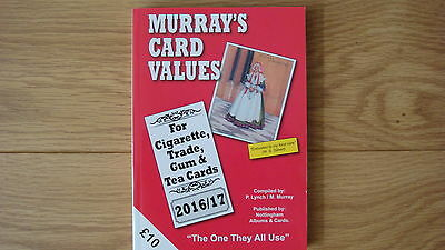 MURRAY'S CARD VALUES 2016/2017 Cigarette Trade Gum Tea cards NEW UK POST FREE