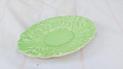 Cabbage style Pottery - Small oval shallow dish