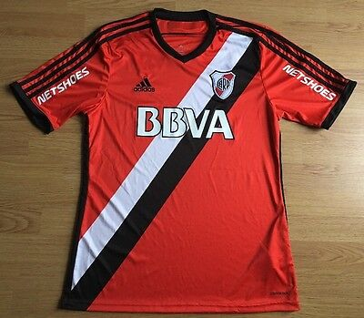 Atletico River Plate 2014/15,Away,Adidas,Large Football Shirt..Great Condition..