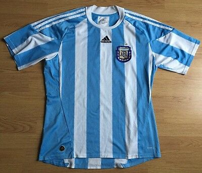 Argentina 2010/11,Home,Adidas,Large Football Shirt..Good Condition.....