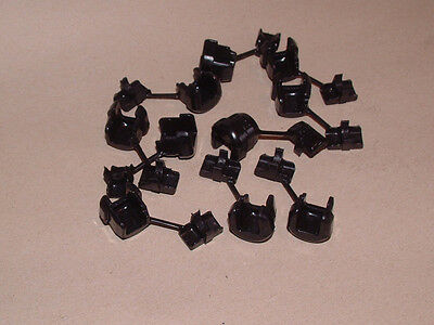 CABLE STRAIN RELIEF BUSHINGS, panel mount, HEYCO part no 6N3-4, Qty 10
