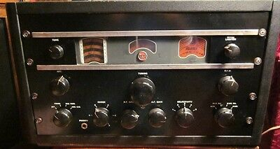 Vintage RCA AR 88 LF Communications receiver tube technology