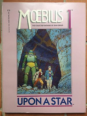 MOEBIUS 1 UPON A STAR Epic Graphic Novel