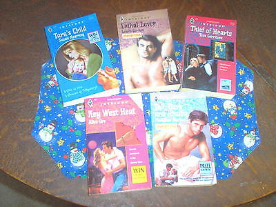 Lot of 5 Harlequin Intrigue, pbs, Lethal Lover by Laura Gordon and 4 more