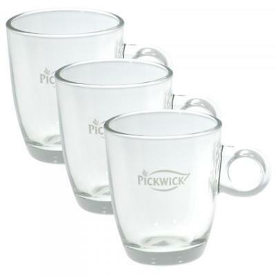 Pickwick Tea Glass Cup, Small, 200 ml, Pack of 3