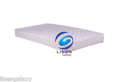 COT BED MATTRESS BREATHABLE FOAM MATTRESS COT BED Size 160x70x7 cm (63 x 27x3in)