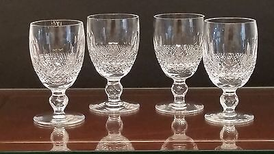 Waterford Crystal Claret Wine Glasses - Colleen Design