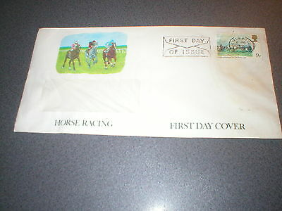 Horse Racing First Day Cover - Saddling Mahmoud for the Derby 1936