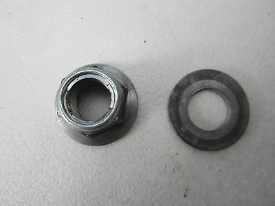 PEUGEOT VIVACITY 3 50cc 2008 - 2013 REAR WHEEL NUT & WASHER SPINDLE NUT PE728073