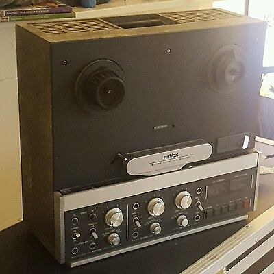 Revox B77 - HS Mk2 1/4 inch 7.5 15 IPS Reel To Reel Tape Recorder