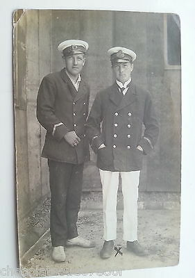 Brandenburg Ww1 Royal Navy & Shipping Line Officers Old Antique Vintage Postcard