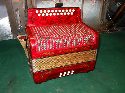 Spezial Offer !! Made In Germany !!  Hohner G/c Corso Diatonic Button Accordion