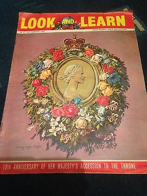 Look and Learn Vintage Magazine No.4 10 Feb 1962