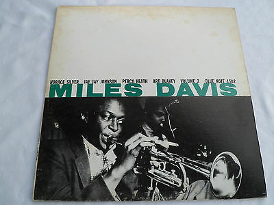 Miles Davis ‎– Volume 2 - Blue Note ‎– BLP 1502 - Vinyl - Lp -  Rar