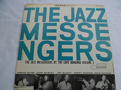 The Jazz Messengers* ‎– At The Cafe Bohemia Volume 2 - Blue Note ‎- Vinyl - Rar