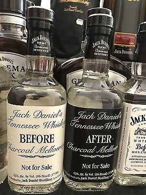 Jack Daniels Before And After Bottles