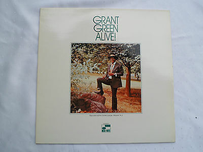 Grant Green ‎– Alive - Blue Note ‎– B1-89793 - Vinyl Lp - Rar