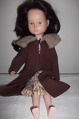 1970's Kate Greenaway plastic Doll - 40cm Tall - Collectable/vintage