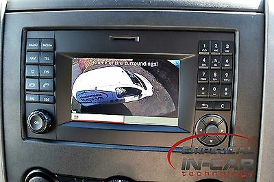 Volkswagen Crafter 2014 Onwards Reverse Camera Kit for O.E.M. Radio