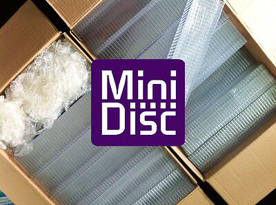 25x MiniDisc cases - MD DATA - Mini Disk box (in compact disc style) E