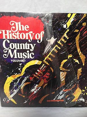 the history of country music volume 3 lp record good condition