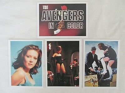 The Avengers In Color Gum Type Cards - Series 2 - 1993 -