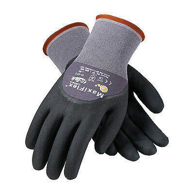 PIP MaxiFlex Ultimate Nitrile Micro-Foam Coated Gloves LARGE 6 pair (34-875/L)