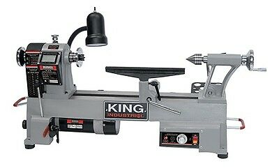 """King Canada Tools KWL-1218VS 12"""" X 18"""" VARIABLE SPEED WOOD LATHE Tour à Bois"""