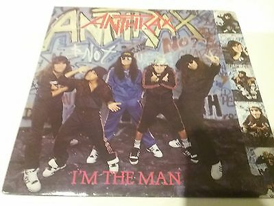 "ANTHRAX I'm The Man 1987 UK 7"" VINYL SINGLE IN PICTURE SLEEVE"