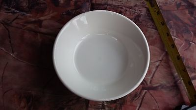 set of 6 Midwinter all white STONEHENGE cereal bowls