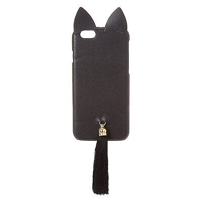 Claire's Girls and Womens Cat With Tassel Phone Case
