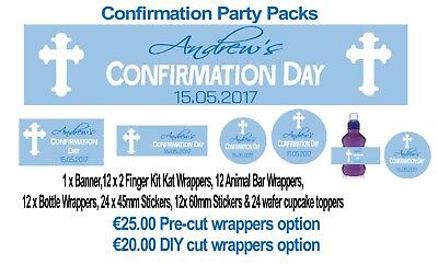 Confirmation Party Pack - various designs