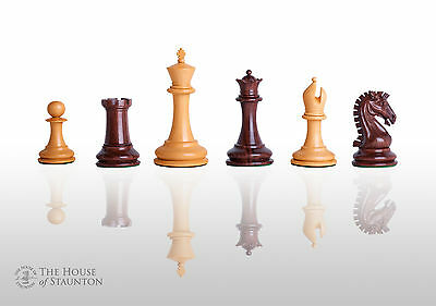 """USCF Sales The Camaratta Signature Cooke Luxury Chess Set - Pieces Only - 3.75"""""""
