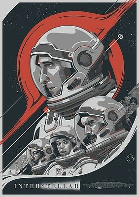 Interstellar Alternative Movie Poster Art by Amien Juugo No. /5 NT Mondo
