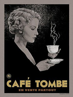 Coffee Vices Screen Print Poster by Timothy Pittides S/N /125 NT Mondo