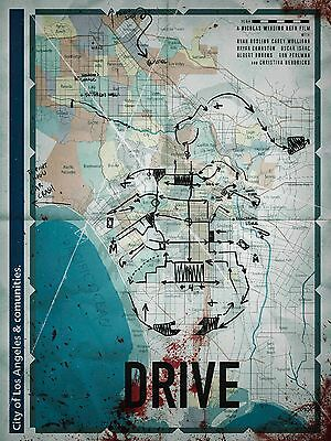Drive Alternative Movie Poster Art Print G.Martin No. /75 NT Mondo