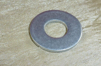 """250 pc Aluminum Flat Washers 1"""" OD 7/16"""" ID 10mm 3/8"""" Bolt made in USA"""