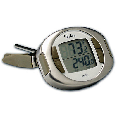 Taylor 519 Connoisseur Digital Candy & Deep Fry Thermometer