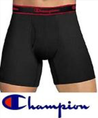 Champion Elite Boxer Briefs 12 Pack Cotton Blend Assorted Colors