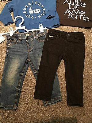 Boys River Island Skinny Jeans 9-12 Months