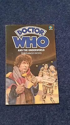 doctor who book - UNDERWORLD - 1st edition