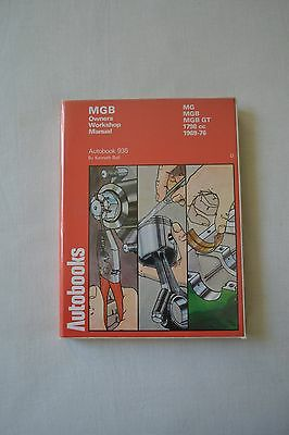 MGB  – Autobooks – Workshop manual (1969 – 1976)